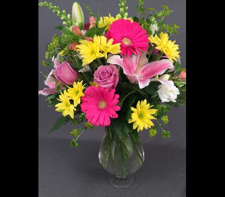 Mother S Love Vase Arrangement In Bowmanville On Van Belle Floral Shoppes
