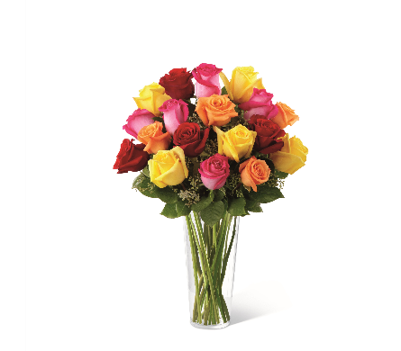 The FTD� Bright Spark� Rose Bouquet in Mission Viejo CA, Conroy's Flowers