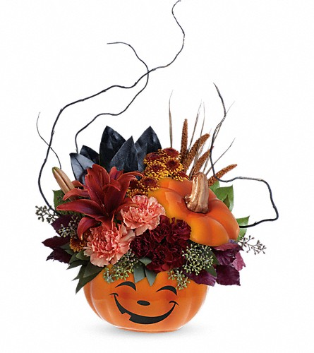 Teleflora's Halloween Magic Bouquet in Lubbock TX, House of Flowers