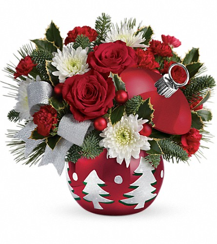 Teleflora's Sparkling Winter Wonderland in Oklahoma City OK, Array of Flowers & Gifts