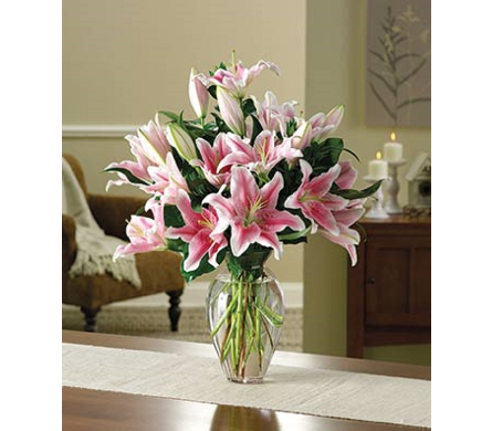 Simply Lovely Lily Bouquet in Princeton, Plainsboro, & Trenton NJ, Monday Morning Flower and Balloon Co.
