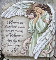 Memorial Angel Plaque in Perrysburg & Toledo OH - Ann Arbor MI OH, Ken's Flower Shops