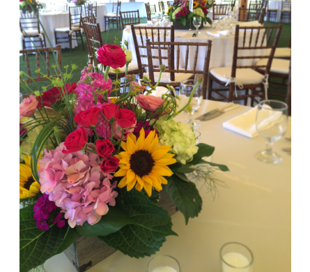 Wedding in Westerly RI, Rosanna's Flowers