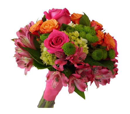 Bold Beauty Clutch Bouquet in Dallas TX, In Bloom Flowers, Gifts and More