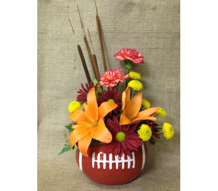 Football Season - Designed One-Sided in Wyoming MI, Wyoming Stuyvesant Floral
