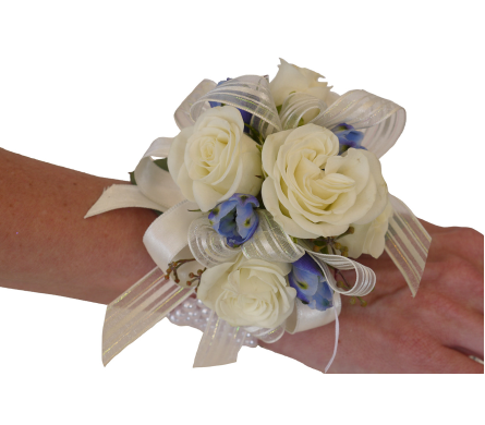 Wedgewood Corsage in Dallas TX, In Bloom Flowers, Gifts and More
