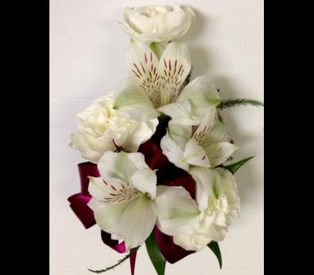 wrist corsage, Beautiful flower