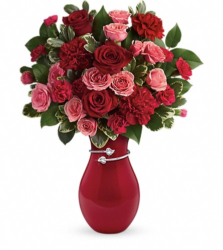 Teleflora's Hearts Entwined Bouquet in Redwood City CA, Redwood City Florist