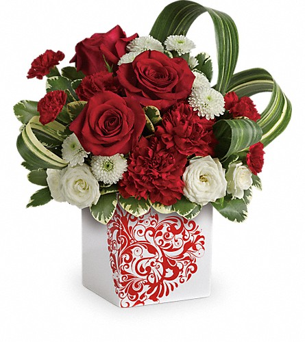 Teleflora's Cherished Love Bouquet in Flint MI, Curtis Flower Shop