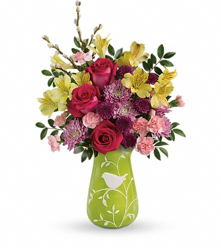 Teleflora's Hello Spring Bouquet in St. Charles MO, The Flower Stop
