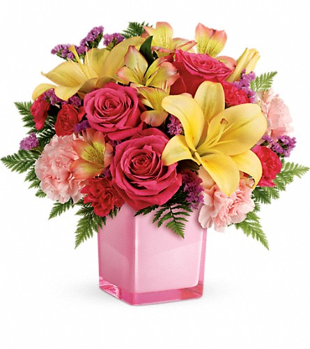 Teleflora's Pop Of Fun Bouquet in Salt Lake City UT, Especially For You