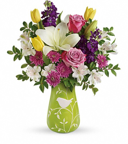 Teleflora's Veranda Blooms Bouquet in Madison ME, Country Greenery Florist & Formal Wear