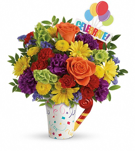 Teleflora's Celebrate You Bouquet in Denver CO, Bloomfield Florist