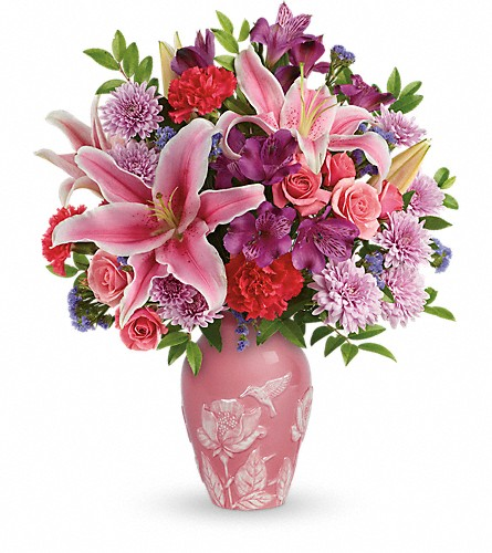 Teleflora's Treasured Times Bouquet in Wilmington NC, Tasteful Creations and Floral Events