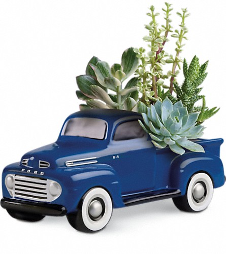 His Favorite Ford F1 Pickup by Teleflora in Charleston WV, Winter Floral and Antiques LLC