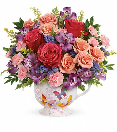 Teleflora's Wings Of Joy Bouquet in Williamsport MD, Rosemary's Florist