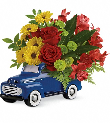 Glory Days Ford Pickup by Teleflora in Traverse City MI, Cherryland Floral & Gifts, Inc.