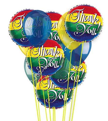 Thank You Balloon Bouquet by 1-800-Balloons
