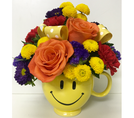Bright Smiles Fresh Bouquet - Designed All-Around in Wyoming MI, Wyoming Stuyvesant Floral