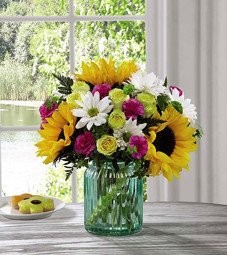 Sunlit Meadows™ Bouquet by Better Homes and Garden in Kingston ON, Pam's Flower Garden