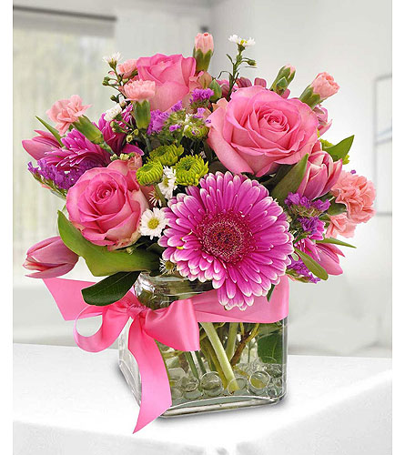 Beauty in Pink in Baltimore MD, Raimondi's Flowers & Fruit Baskets