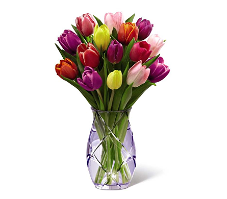 The FTD� Spring Tulip Bouquet in Elk Grove Village IL, Berthold's Floral, Gift & Garden