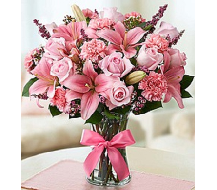 Pink Expression in Largo FL, Rose Garden Flowers & Gifts, Inc