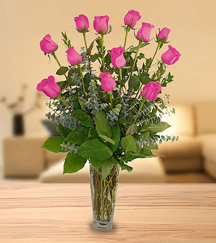 Mother's Classic Dozen Roses in Dallas TX, In Bloom Flowers, Gifts and More