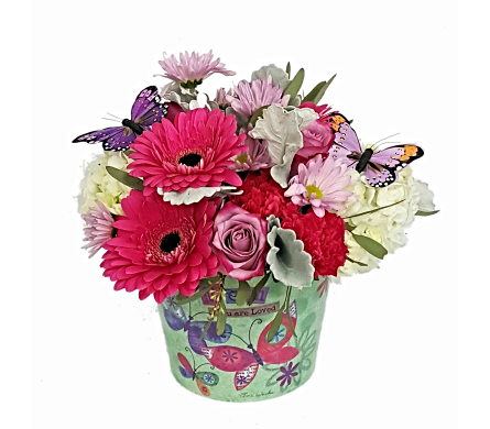 Tina Wenke� You Are Loved in East McKeesport PA, Lea's Floral Shop