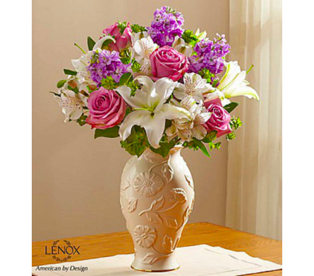 Loving Blooms� Lenox� Lavender & White in Lindenhurst NY, Evergreen Florist