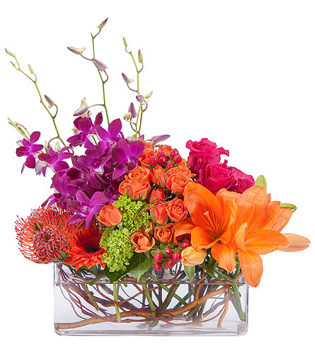 Powerfully Prismatic in Sault Ste Marie MI, CO-ED Flowers & Gifts Inc.