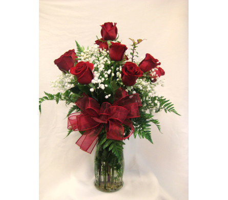 1 Doz Red Rose Special in Lake Charles LA, A Daisy A Day Flowers & Gifts, Inc.