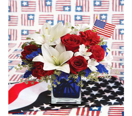 Memorial Day Salute in Indianapolis IN, George Thomas Florist