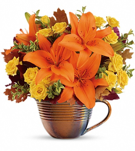 Teleflora's Fall Mystique Bouquet in Houston TX, Clear Lake Flowers & Gifts