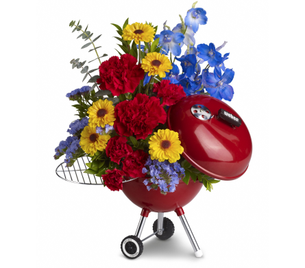 King of the Grill in Wall Township NJ, Wildflowers Florist & Gifts