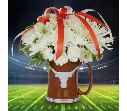 Hook 'Em Mug in Dallas TX, In Bloom Flowers, Gifts and More