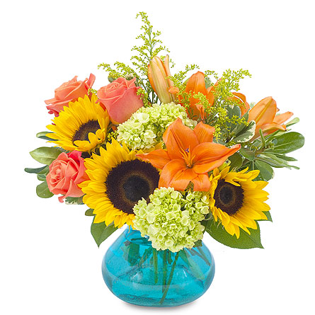 Sunshine Day in Escondido CA, Rosemary-Duff Florist