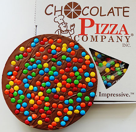 16oz Milk Choc Pizza in Liverpool NY, Creative Florist