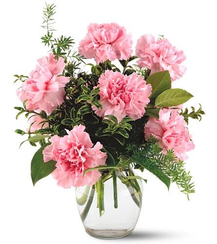 Teleflora's Pink Notion Vase in Big Rapids, Cadillac, Reed City and Canadian Lakes MI, Patterson's Flowers, Inc.
