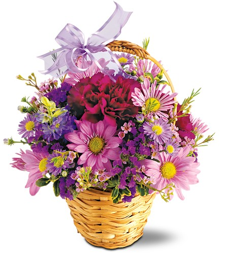 Teleflora's Lavender Garden Local and Nationwide Guaranteed Delivery - GoFlorist.com
