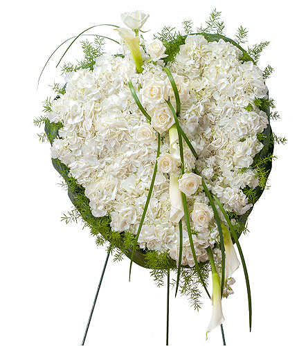 Elegant Love Heart in Fort Worth TX, TCU Florist