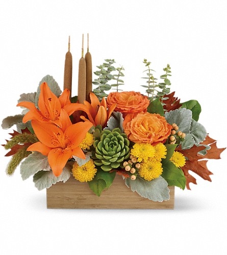 Teleflora's Fall Bamboo Garden in Bryant AR, Letta's Flowers And Gifts