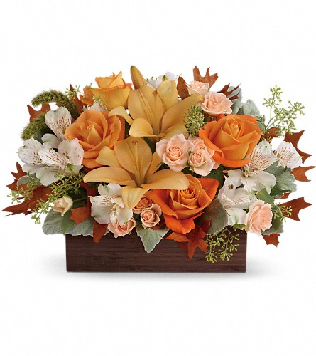 Teleflora's Fall Chic Bouquet, FlowerShopping.com