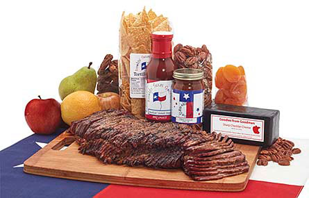 A Slice of Texas in Dallas TX, Goodies from Goodman