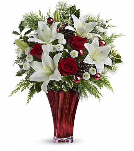 Teleflora's Wondrous Winter Bouquet in Morgantown WV, Coombs Flowers
