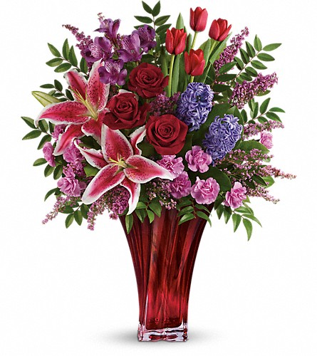 One Of A Kind Love Bouquet by Teleflora in McHenry IL, Locker's Flowers, Greenhouse & Gifts