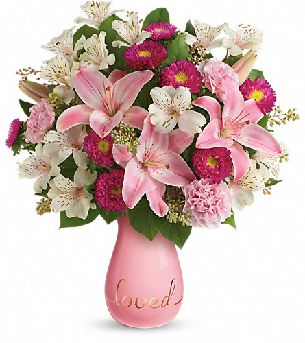 Always Loved Bouquet by Teleflora DX in Santa Clara CA, Fujii Florist - (800) 753.1915