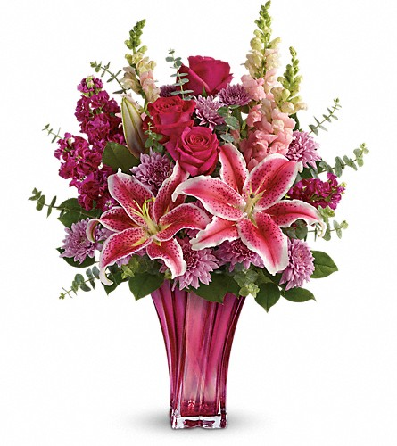 Teleflora's Bold Elegance Bouquet in St. Charles MO, The Flower Stop
