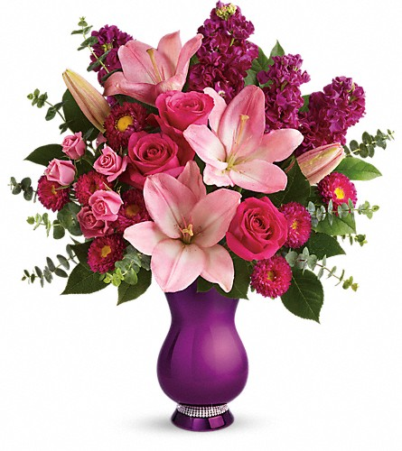 Teleflora's Dazzling Style Bouquet in St. Charles MO, The Flower Stop