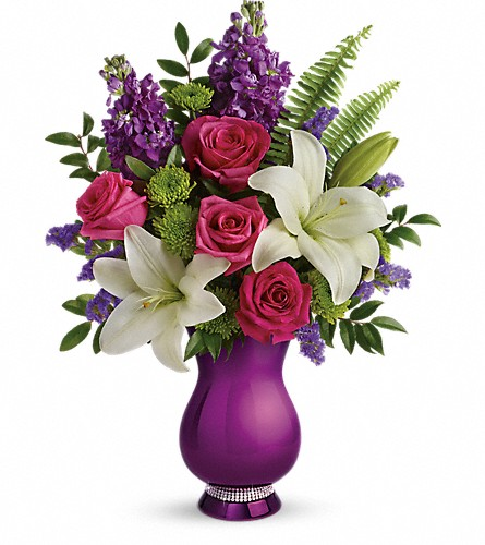 Teleflora's Sparkle And Shine Bouquet in New Castle DE, The Flower Place